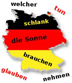 Słówka niemieckie przez Internet
